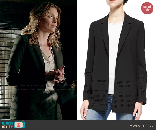 Elizabeth & James Franco Blazer worn by Stana Katic on Castle