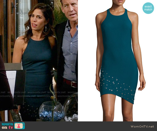 Elizabeth & James Gali Grommet Dress worn by Ana Ortiz on Devious Maids