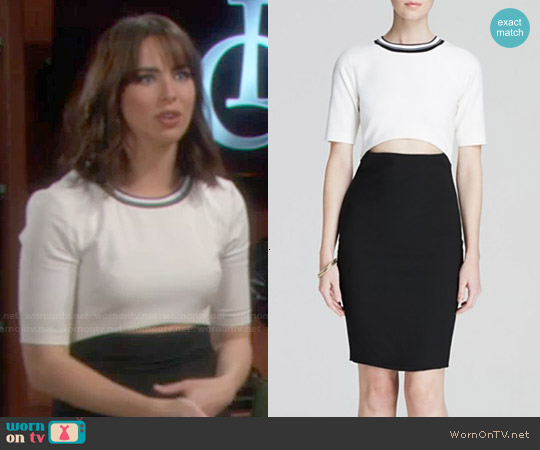 Elizabeth & James Kenya Dress worn by Ashleigh Brewer on The Bold & the Beautiful