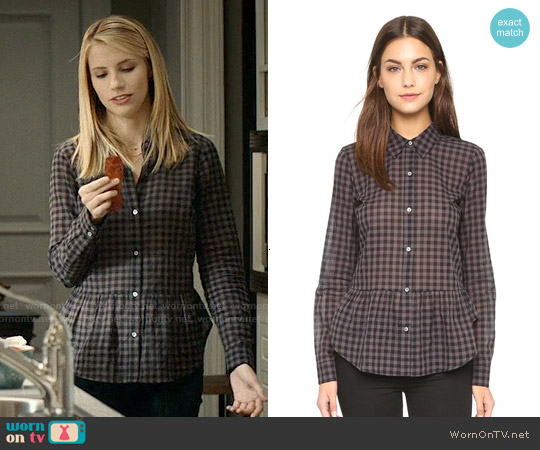 Elizabeth & James Lalo Top worn by Wallis Currie-Wood on Madam Secretary