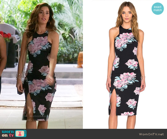 Elizabeth & James Leya Dress worn by Ana Ortiz on Devious Maids