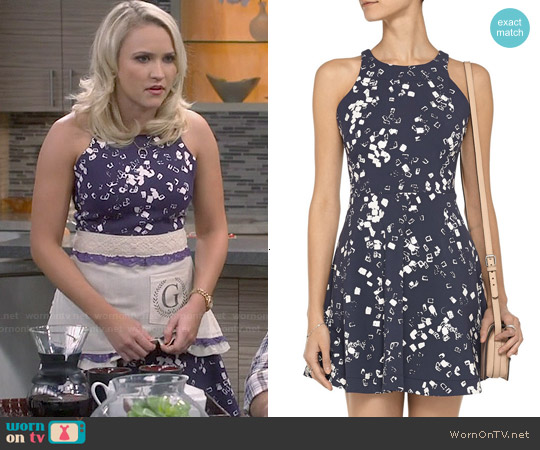 Elizabeth & James Magdalena Dress worn by Emily Osment on Young & Hungry