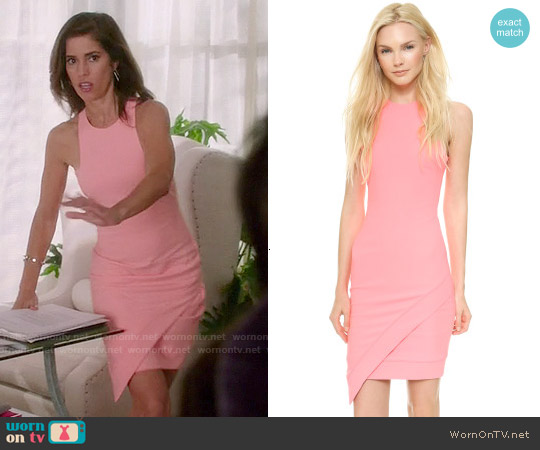 Elizabeth & James New Claire Dress worn by Ana Ortiz on Devious Maids