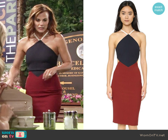 Elizabeth & James Riza Dress worn by Gina Tognoni on The Young & the Restless