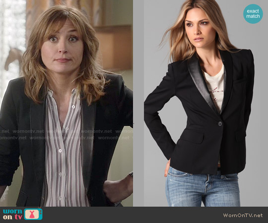 Elizabeth & James Sammy Blazer worn by Maura Isles on Rizzoli & Isles