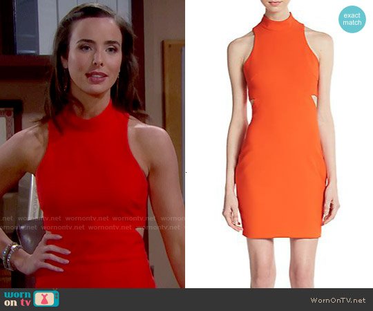 Elizabeth & James Shalene Dress worn by Ashleigh Brewer on The Bold & the Beautiful
