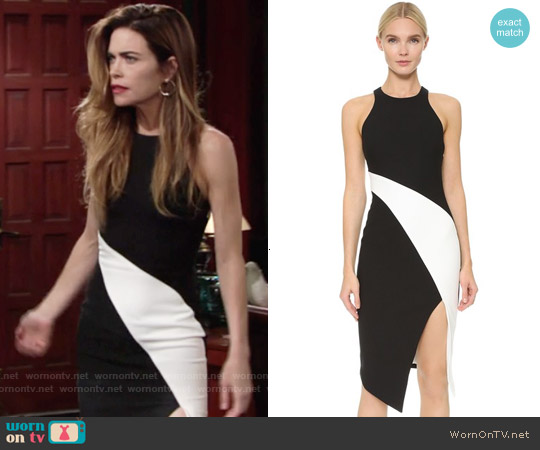 Elizabeth & James Shylen Dress worn by Amelia Heinle on The Young & the Restless