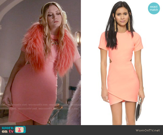 Elizabeth & James Skylyn Dress worn by Billie Lourd on Scream Queens