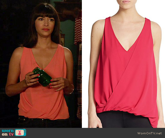 Elizabeth & James Tiana Top worn by Hannah Simone on New Girl