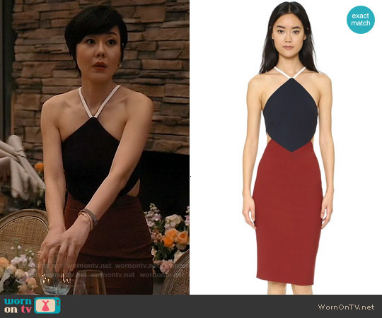 Elizabeth & James Riza Dress worn by Yunjin Kim on Mistresses