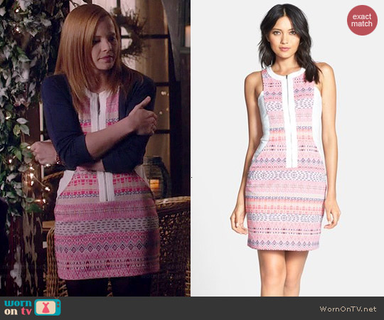 Ella Moss Paz Dress worn by Katie Leclerc on Switched at Birth