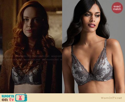 Elle Macpherson Intimates Oasis Plunge Bra worn by Elyse Levesque on The Originals