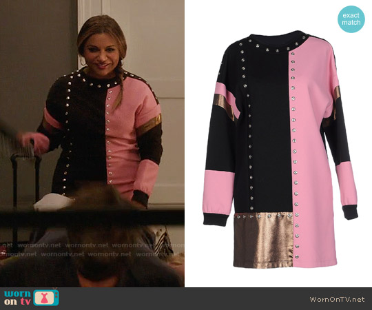 Emanuel Ungaro Party Dress worn by Mindy Kaling on The Mindy Project