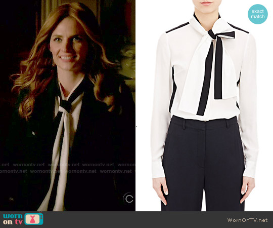 worn by Kate Beckett (Stana Katic) on Castle