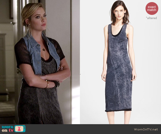 Enza Coster Racerback Jersey Dress worn by Ashley Benson on PLL