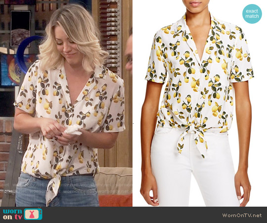 Equipment Keira Lemon Top worn by Kaley Cuoco on The Big Bang Theory
