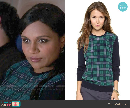 Equipment Roland Sweater worn by Mindy Kaling on The Mindy Project