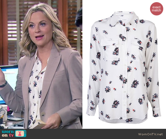 Equipment Signature Felicia Daisy Blouse worn by Amy Poehler on Parks & Rec