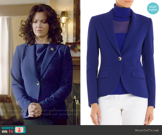Escada Brikena Blazer worn by Bellamy Young on Scandal