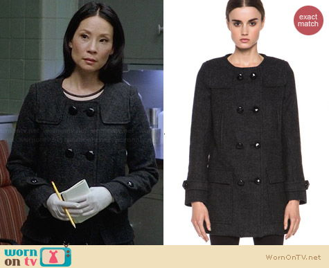 Etoile Isabel Marant Clifford Coat worn by Lucy Liu on Elementary
