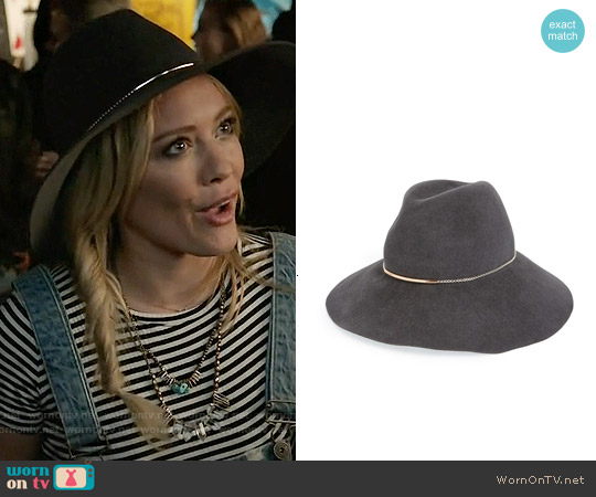 Eugenia Kim Farrah Hat worn by Kelsey Peters on Younger