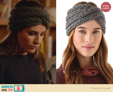Eugenia Kim Lula Head Wrap worn by Lea Michele on Glee