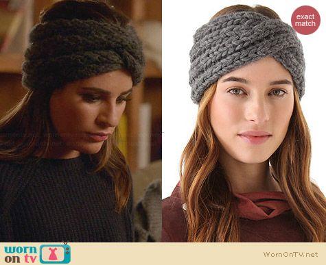 Eugenia Kim Lula Head Wrap worn by Lea Michele on Glee