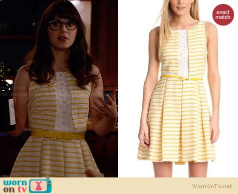Eva Franco Regina Canary Islands Dress worn by Zooey Deschanel on New Girl