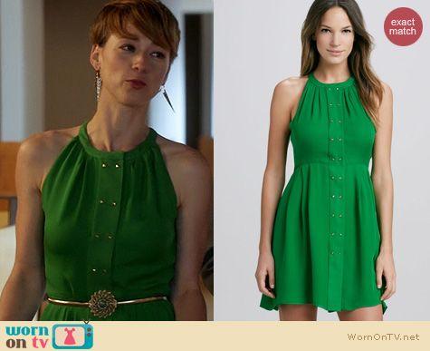 Fashion of Revenge: Parker Nicole Dress worn by Karine Vanasse