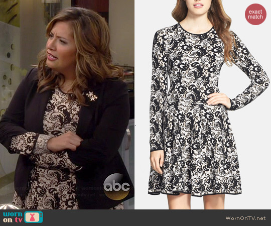 Felicity & Coco Fit & Flare Sweater Dress worn by Cristela Alonzo on Cristela