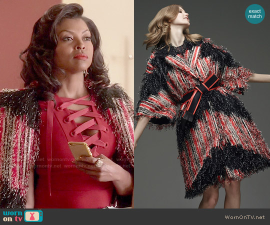Fendi Pre-Fall 2015 Coat worn by Cookie Lyon on Empire