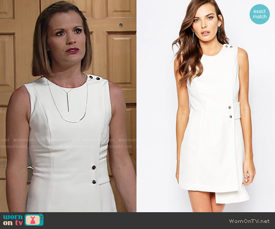 Finders Keepers This Orient Dress worn by Melissa Claire Egan on The Young & the Restless