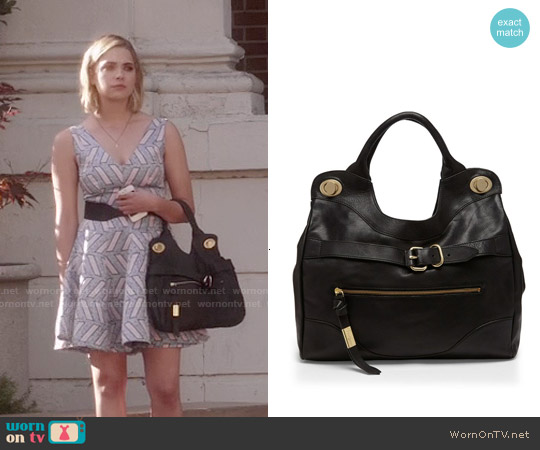 Foley & Corinna Jet Set Bag worn by Ashley Benson on PLL