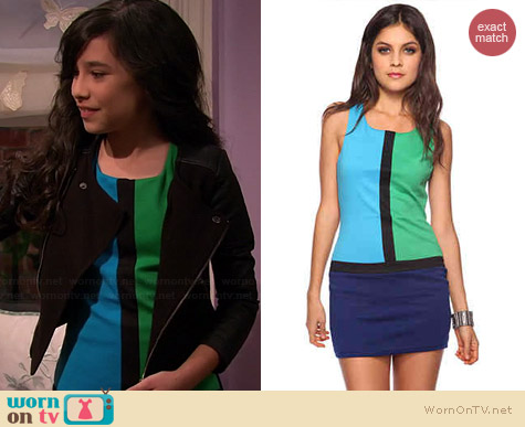 Forever 21 Colorblocked Mod Dress worn by Cecelia Balagot on Girl Meets World