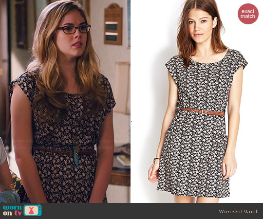 Forever 21 Ditsy Floral Print Dress worn by McKaley Miller on Hart of Dixie