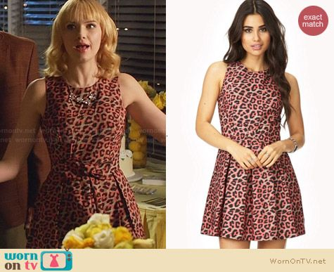 Forever 21 Wild Thing A-Line Dress worn by Claudia Lee on Hart of Dixie