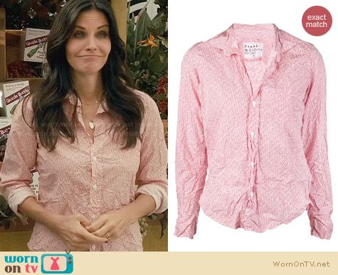 Frank & Eileen Barry Shirt worn by Courtney Cox on Cougar Town