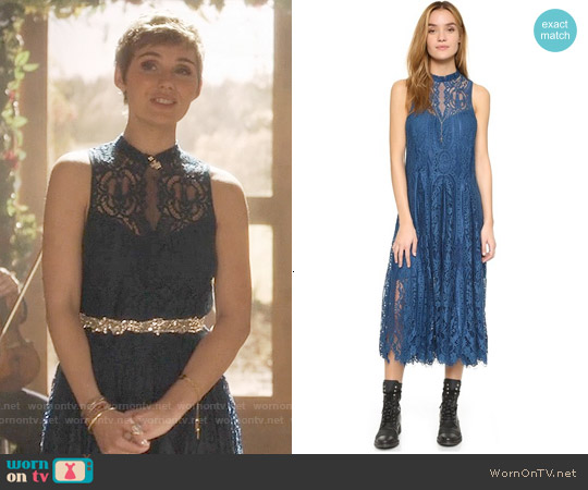 Free People Angel Rays Dress worn by Clare Bowen on Nashville