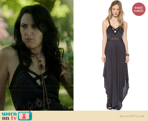 Free People Bonita Maxi Dress worn by Madchen Amick on Witches of East End