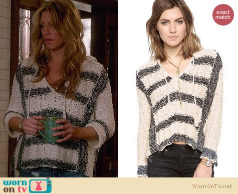 Free People Cali Love Hoodie worn by Jess Macallan on Mistresses