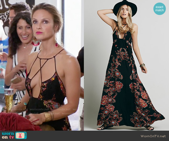 Free People Cantik Maxi Dress worn by Beau Garrett on GG2D