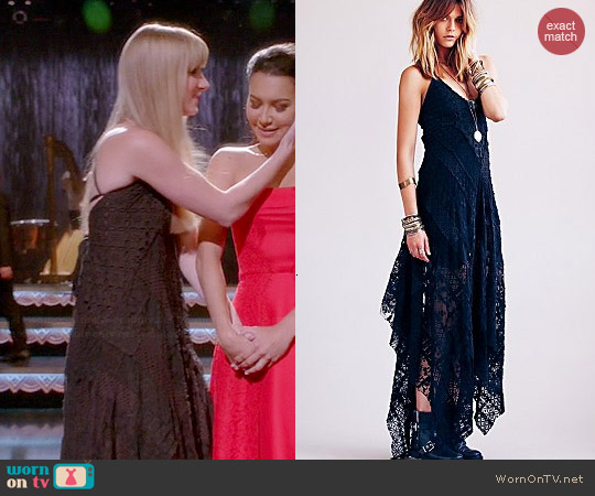 Free People Cast Away Gown worn by Heather Morris on Glee