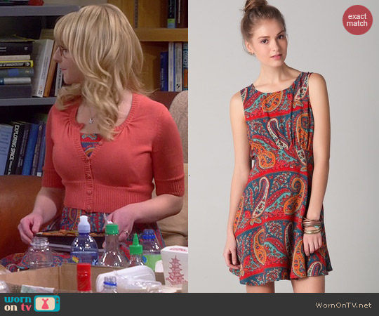 Free People Dancing Pretty Dress worn by Melissa Rauch on The Big Bang Theory