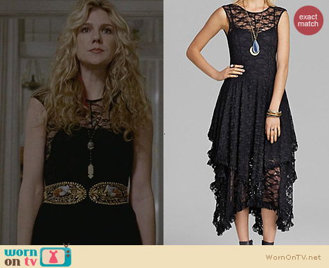 Free People French Court Slip worn by Sarah Paulson on AHS Coven