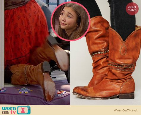 Free People Heartworn Boots worn by Rowan Blanchard on Girl Meets World