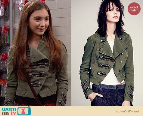Free People Keep Us Together Jacket worn by Rowan Blanchard on Girl Meets World