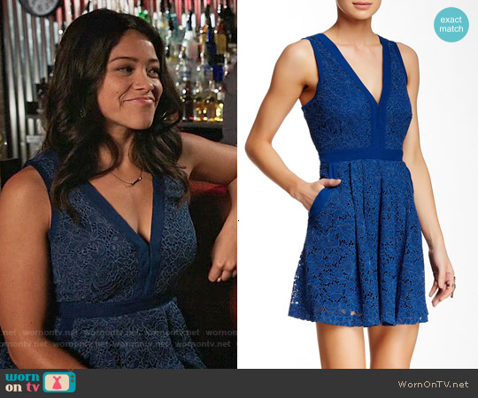 Free People Lovely in Lace Dress worn by Gina Rodriguez on Jane the Virgin