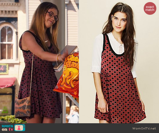 Free People Molly Dot Swing Dress worn by McKaley Miller on Hart of Dixie