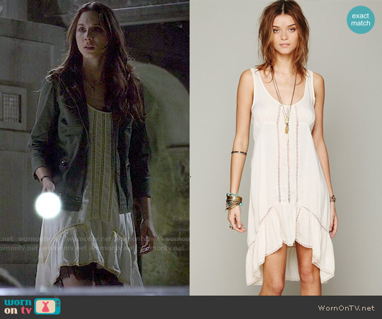 Free People Parisian Slip worn by Troian Bellisario on PLL