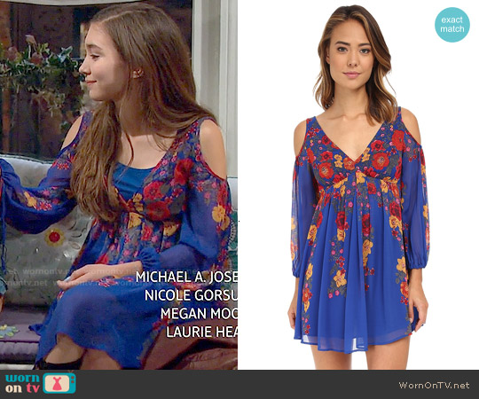 Free People Penny Lover Dress worn by Rowan Blanchard on Girl Meets World